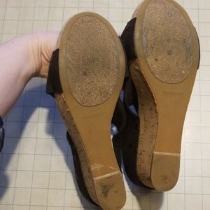 Lucky Brand Shoes - Lucky Brand Miller Wedges size 9.5
